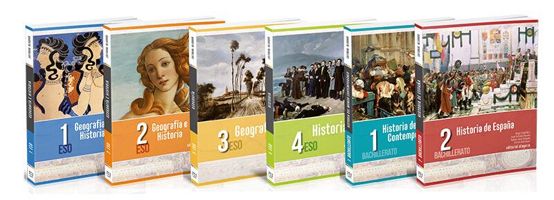 Manuales de Geografía e Historia